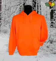 sweat-shirt-capuche-fluo-haute-visibilite-chasse-chasseur-face